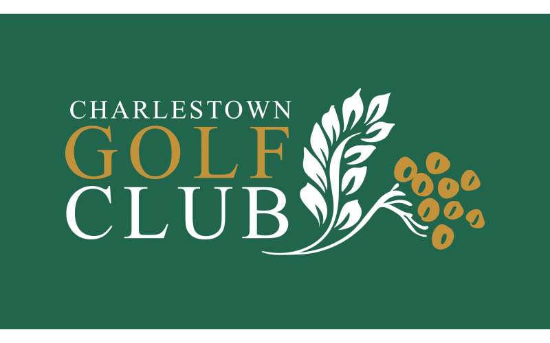Grimmel. Logo Design Charlestown Golf Club
