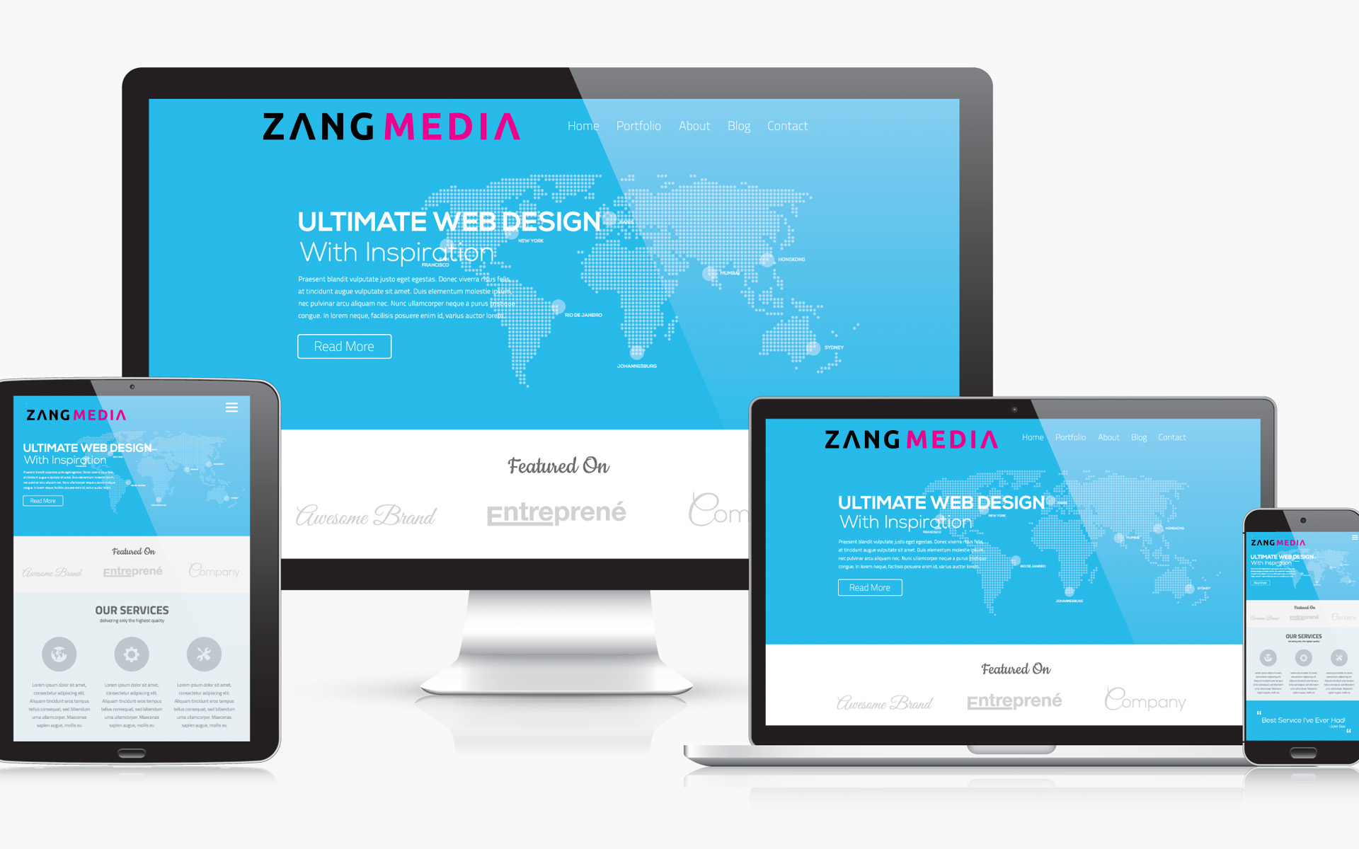 ZANG Media web design turn traffic into dollars